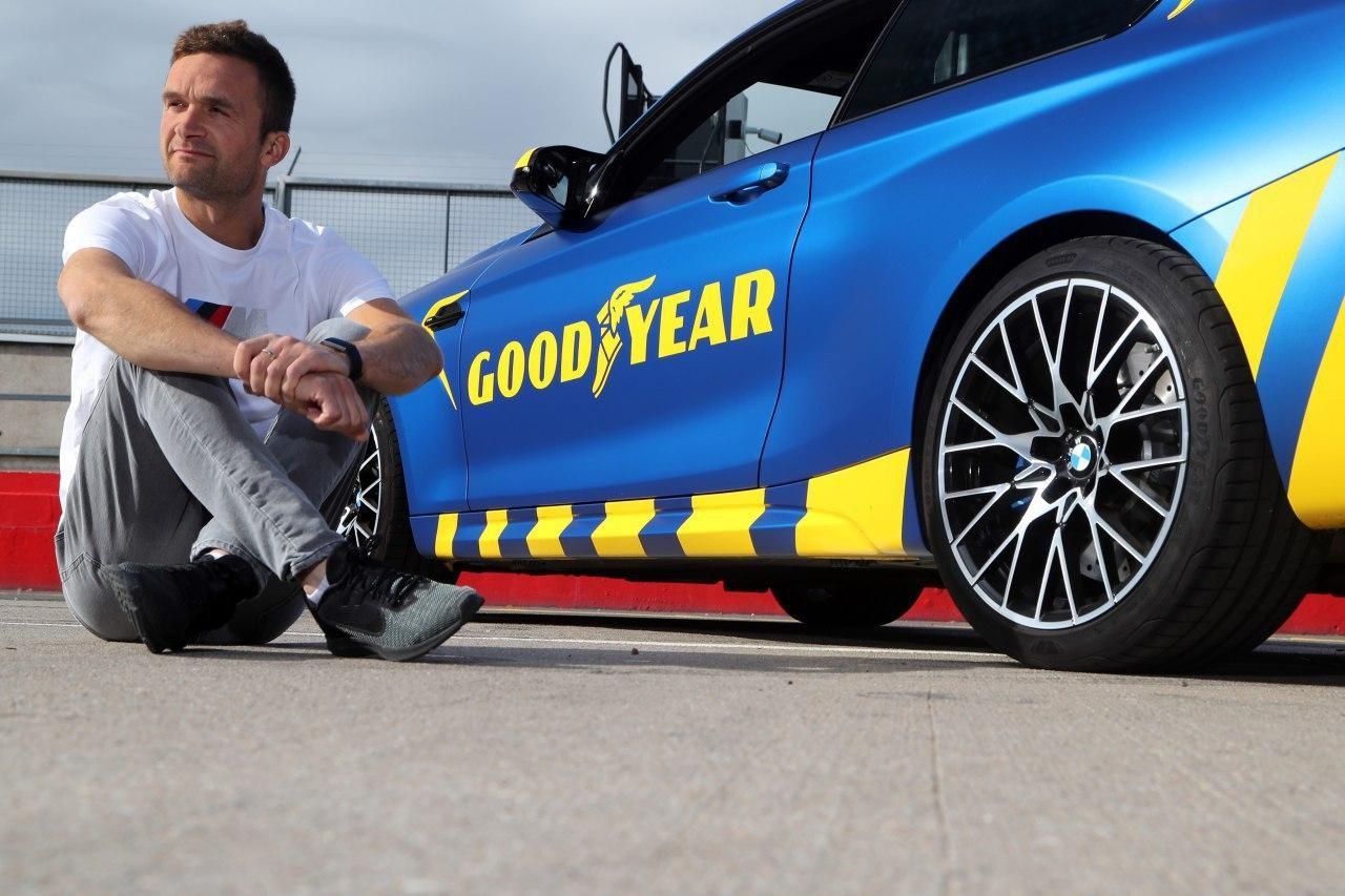 Шины Goodyear Eagle F1 Super Sport на треке протестировал чемпион автогонок класса BTCC