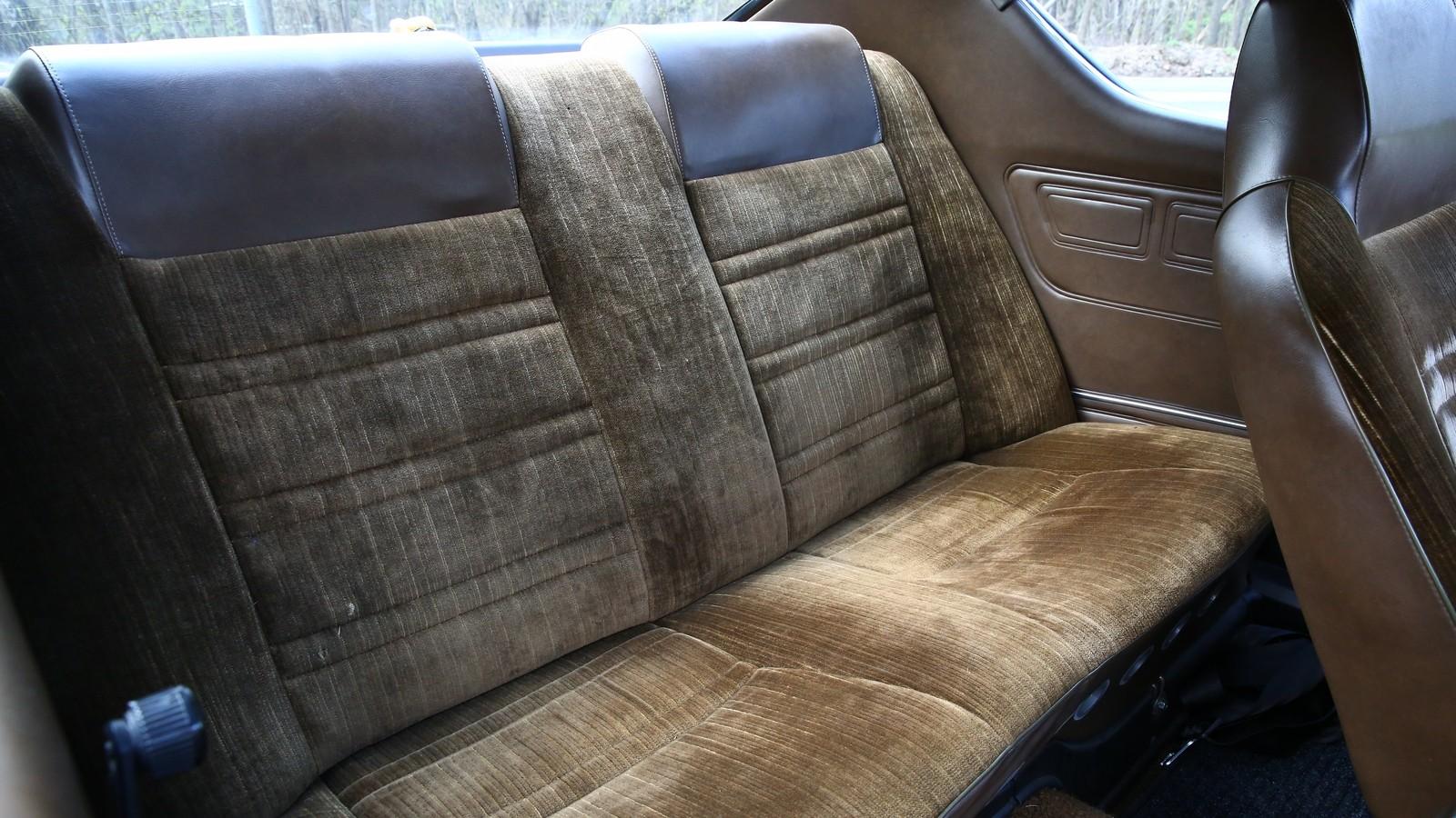 Mazda 929 задний диван