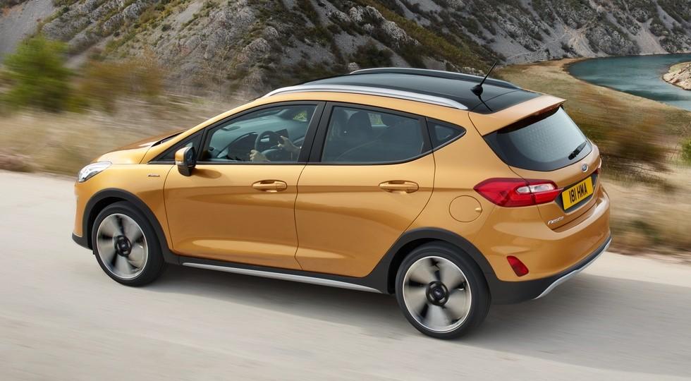 На фото: Ford Fiesta Active