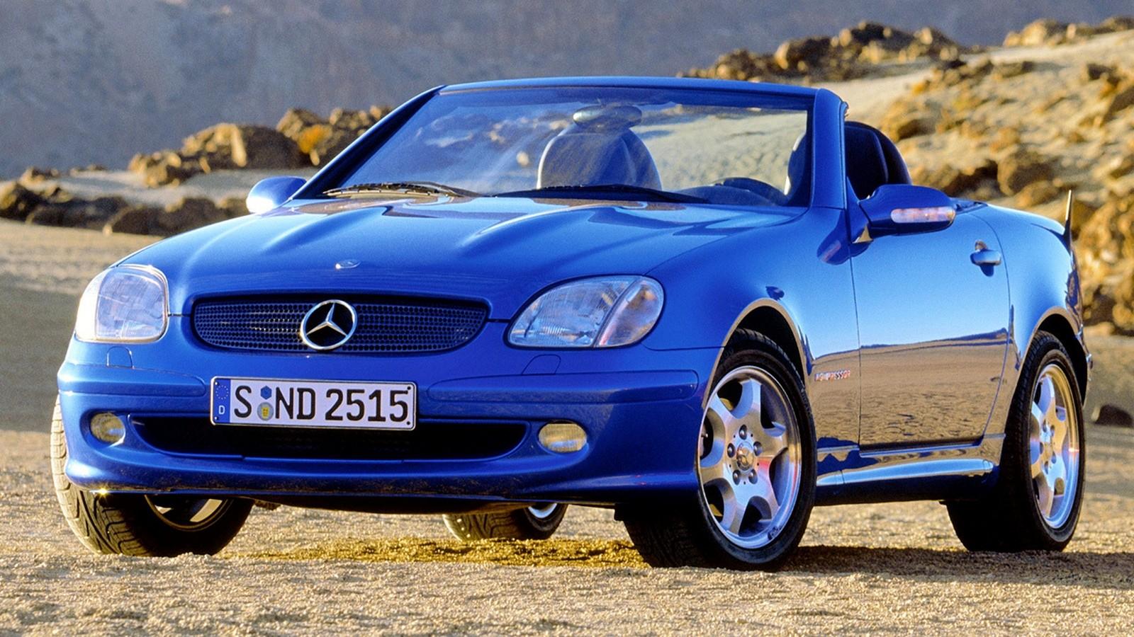 На фото: Mercedes-Benz SLK '1996–2000