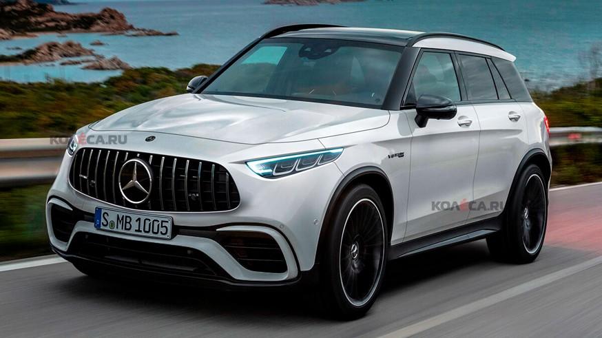 Mercedes-AMG может выпустить новый кроссовер: первое изображение