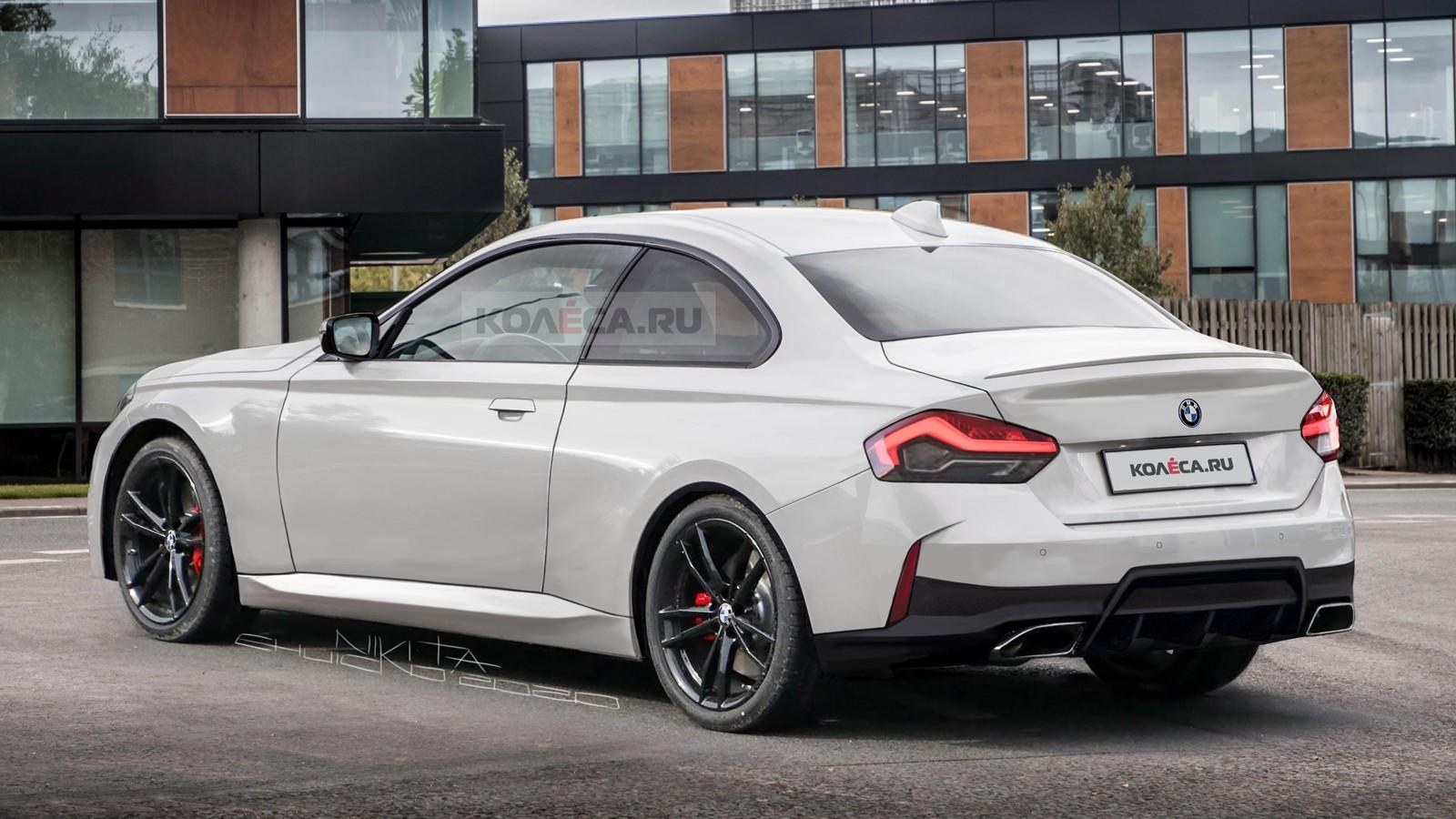 2022 - [BMW] Série 2 / M2 Coupé [G42] - Page 4 Bmw-2er-rear2