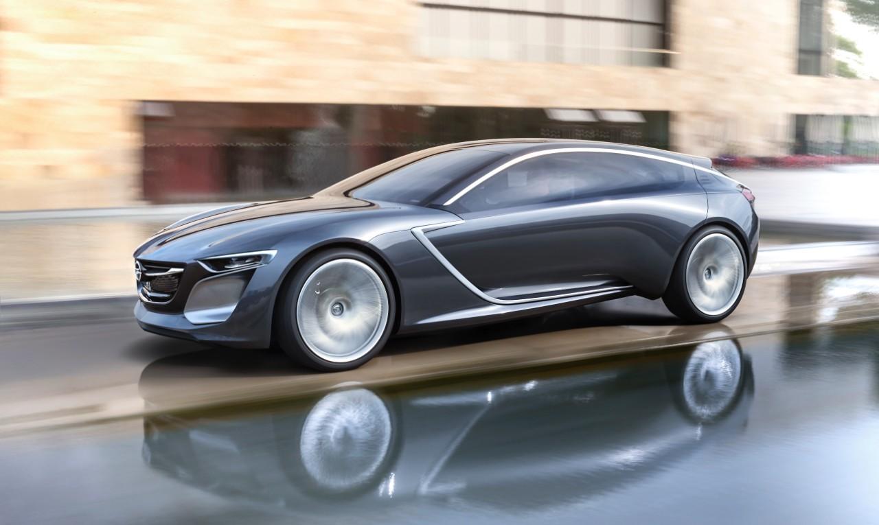 На фото: концепт Opel Insignia Grand Sport
