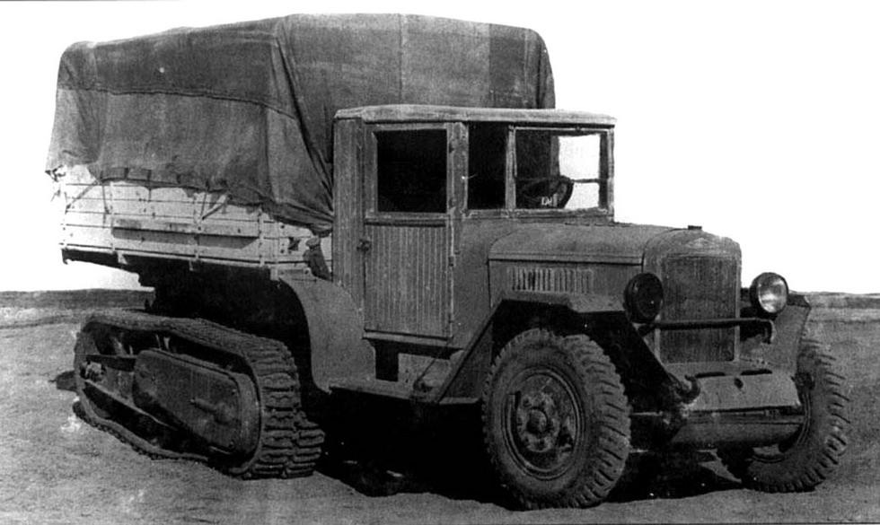 Тягач ЗИС-42 на шасси ЗИС-5
