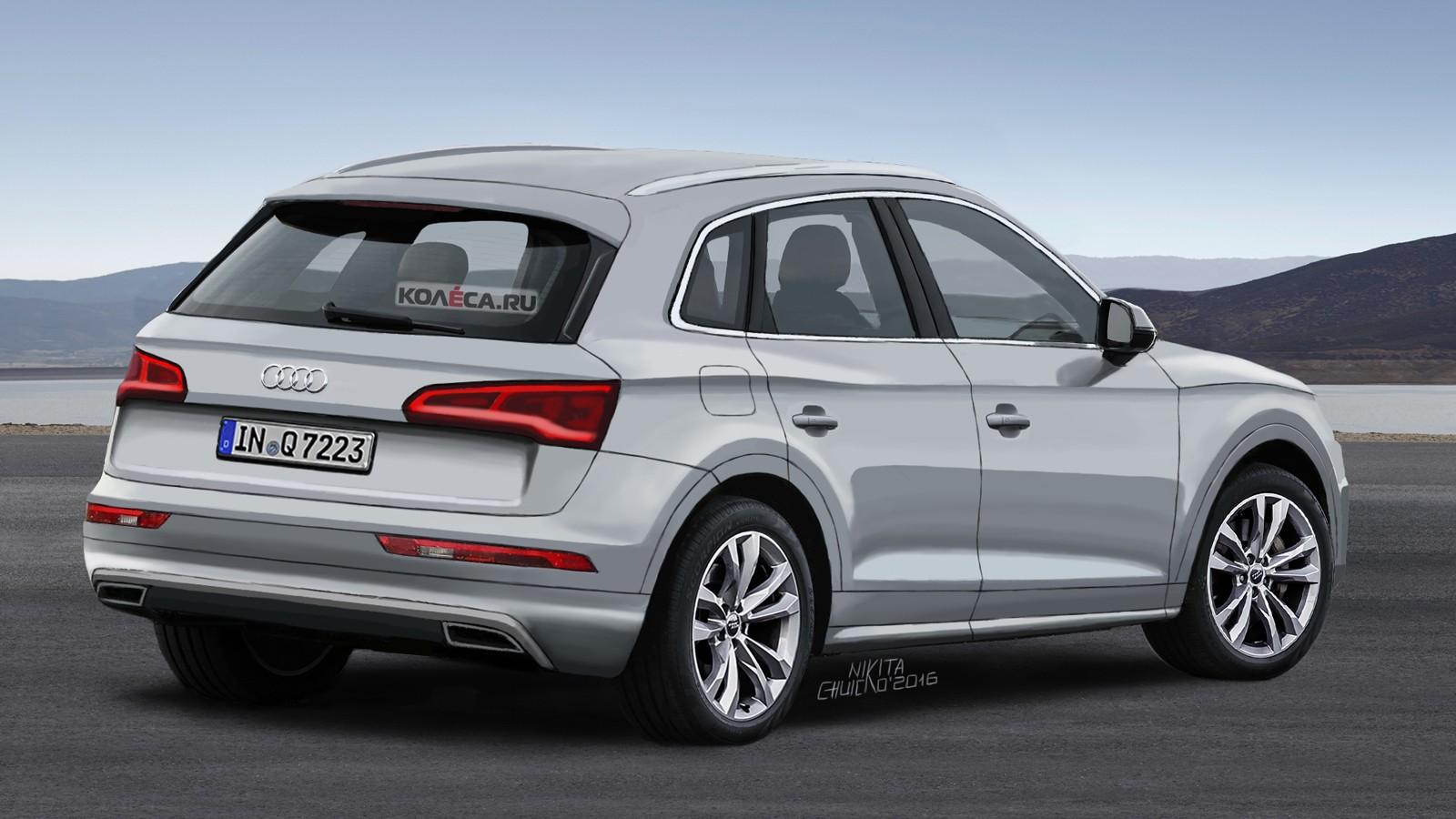 Audi Q5 render rear