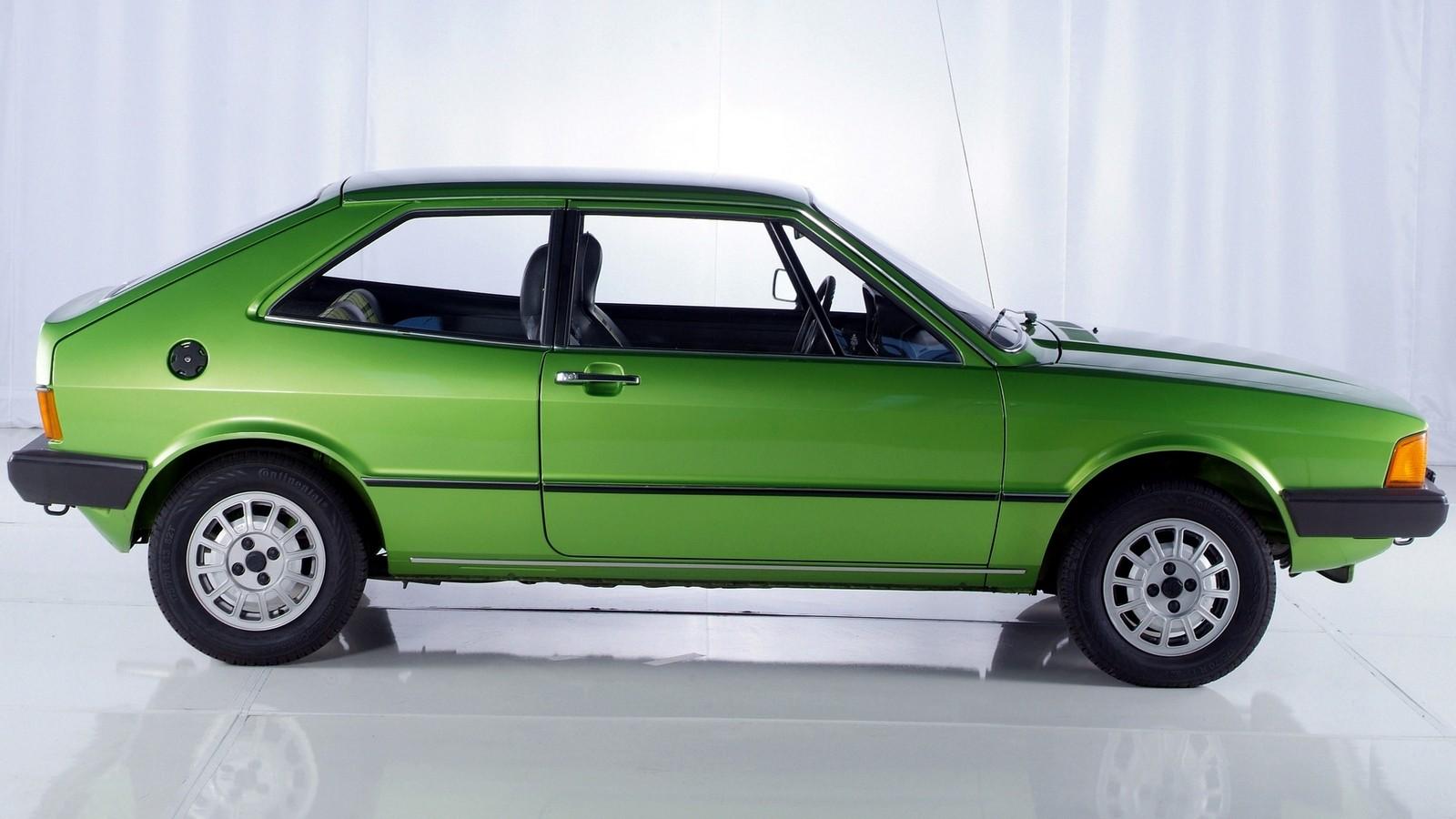 На фото: VW Scirocco I