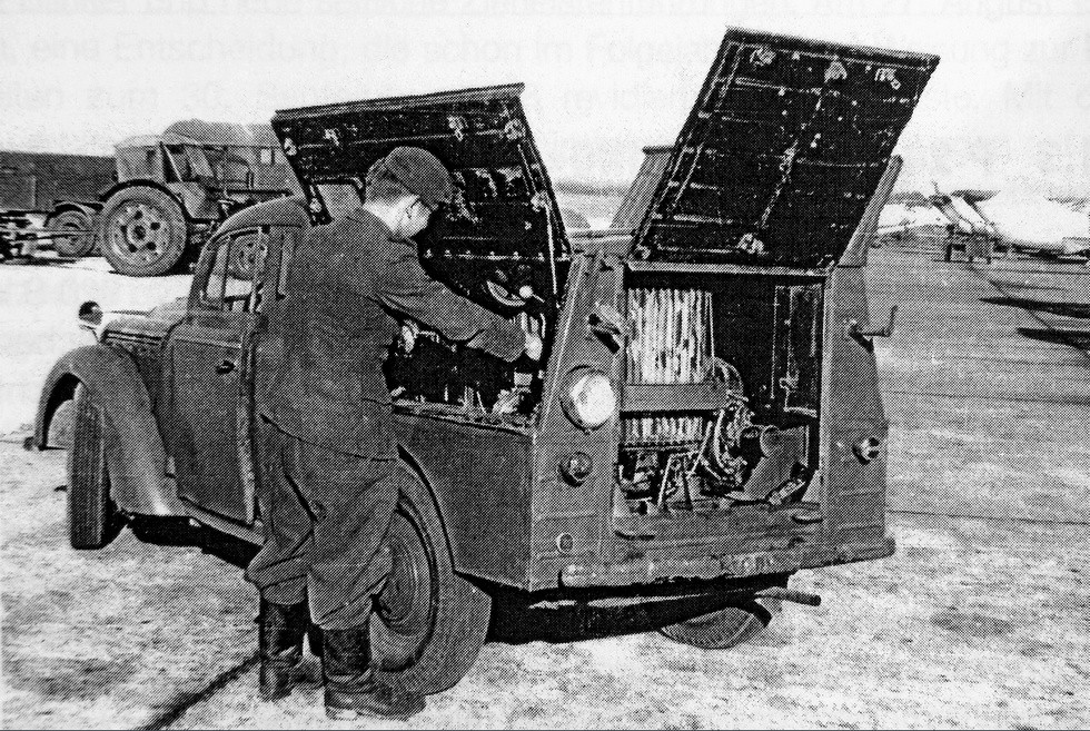 Аэродромная электростартерная машина АПА-7 в Народной армии ГДР