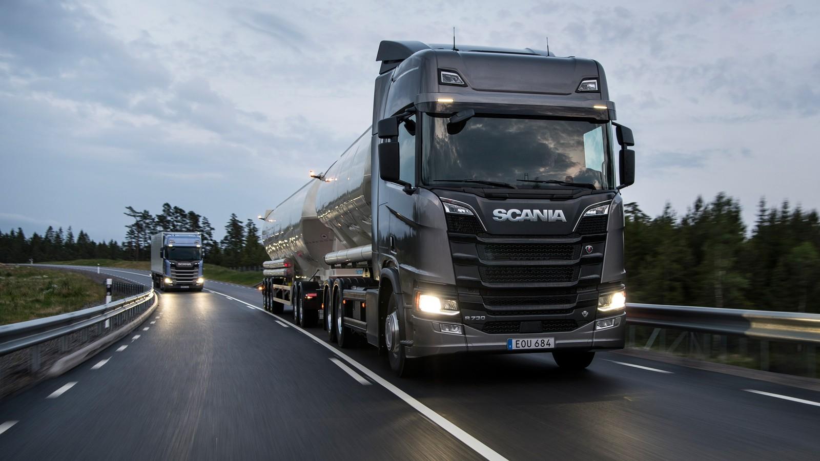 Next Generation Scania: Trucks in operation