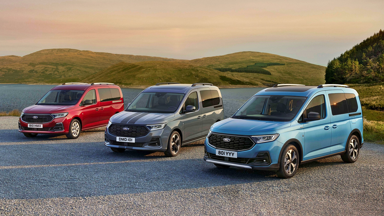 Новый Ford Tourneo Connect получил от донорского VW Caddy полный привод