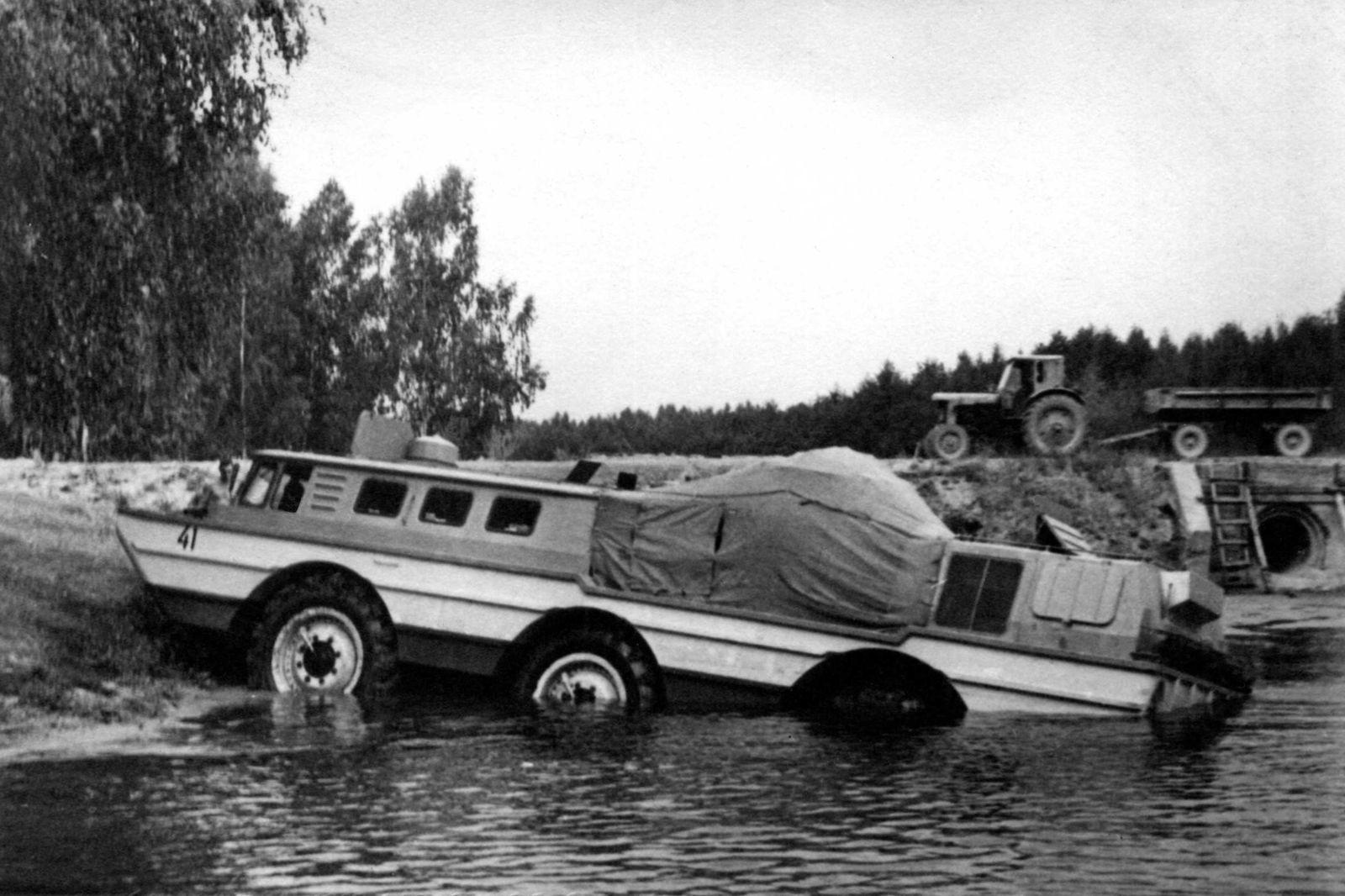 Как на вездеходе ЗИЛ-5901 в конце 60-х впервые в мире появились дисковые тормоза на трансмиссии