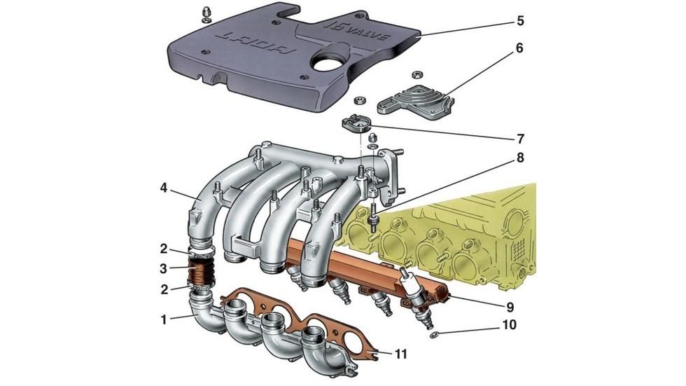 двигатель 16valve