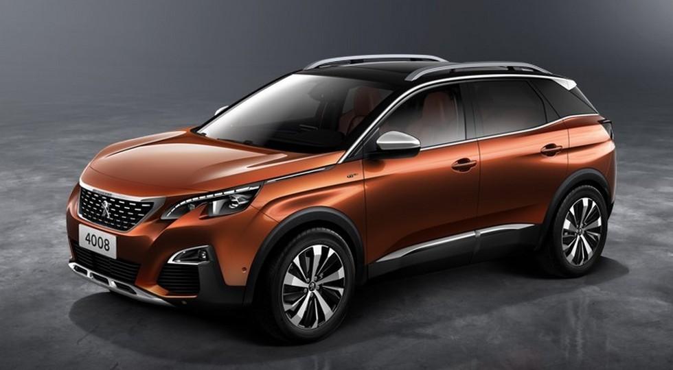 На фото: новый Peugeot 4008 для китайского рынка