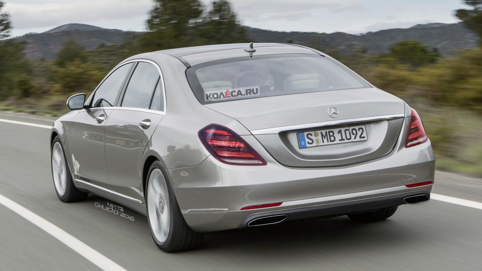 Mercedes-Benz S-klasse rear