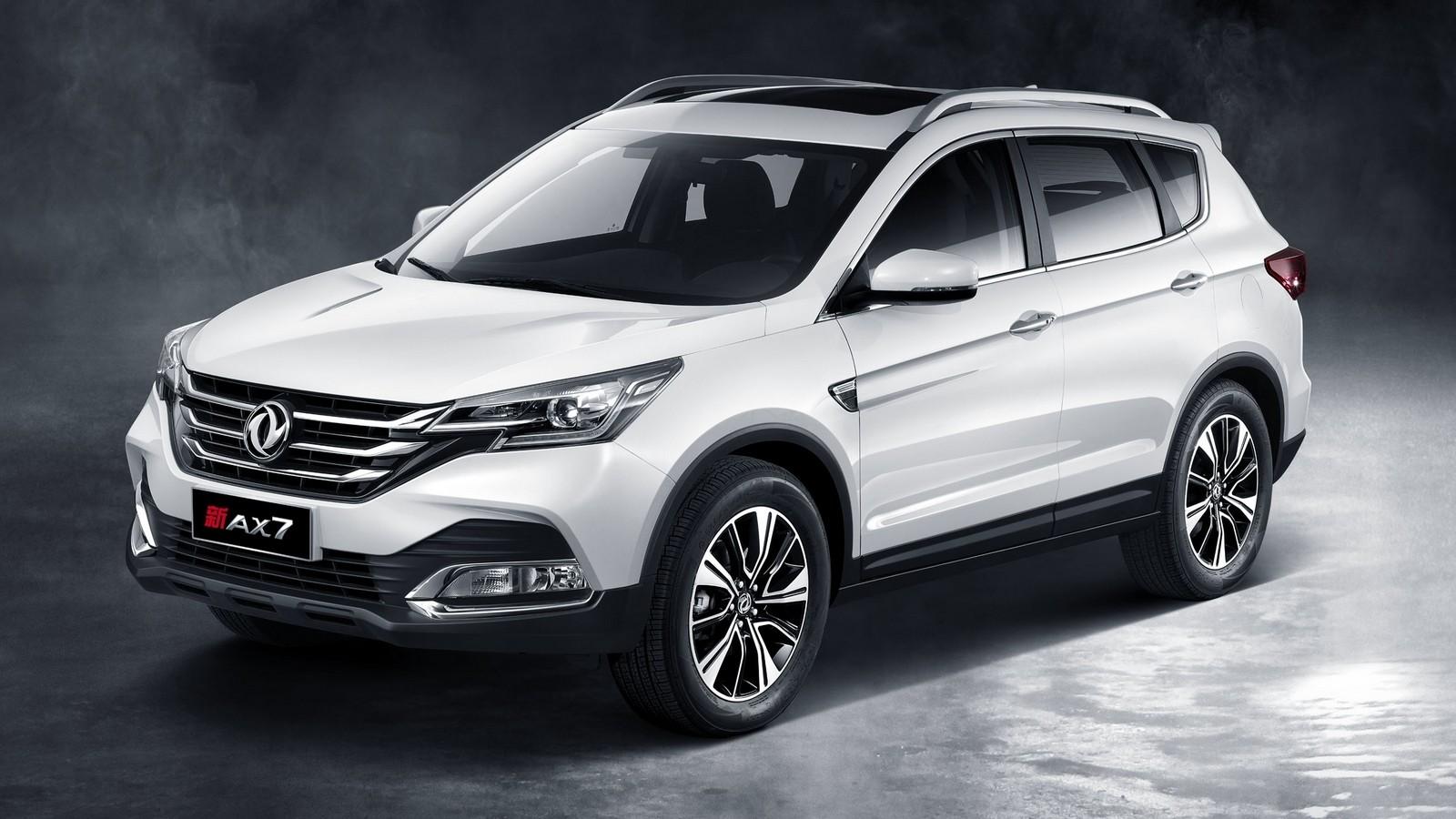 Dongfeng Aeolus AX7 '2017–н.в. белый три четверти