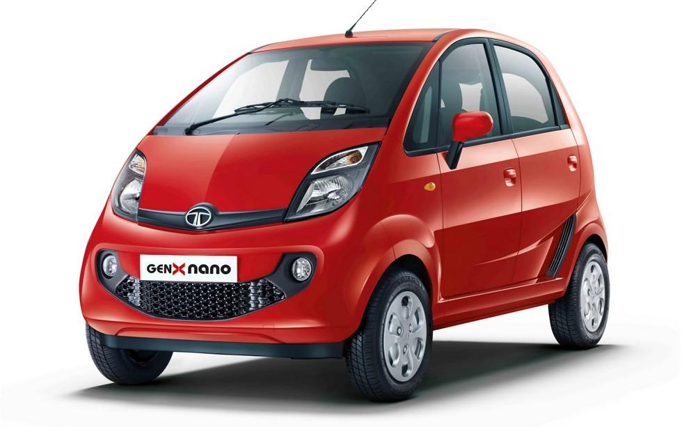 На фото: Tata Nano