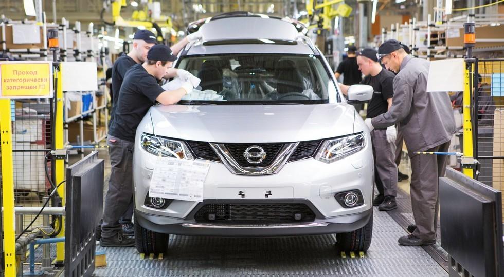 На фото: Nissan X-Trail