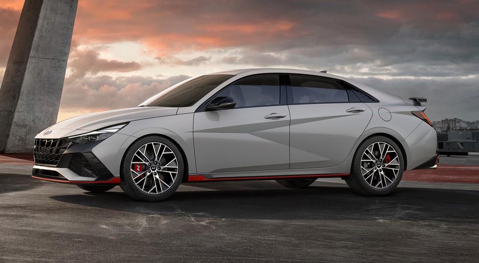 «Горячий» 280-сильный седан Hyundai Elantra N предложен с двумя коробками на выбор
