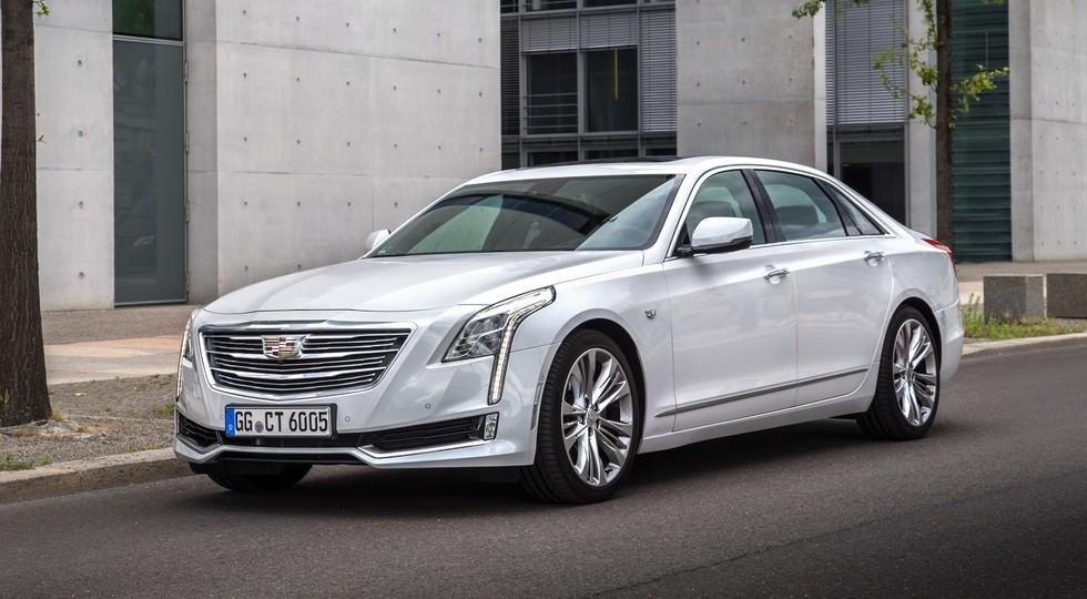 На фото: Cadillac CT6