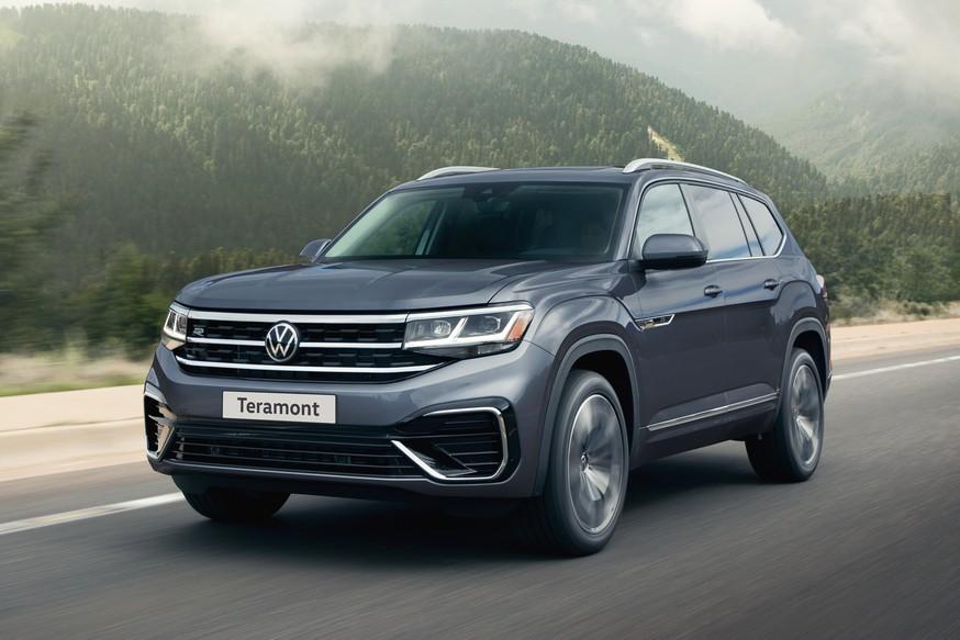 Обновлённый VW Teramont для РФ: самой «простой» версии больше нет, зато добавлен спортпакет