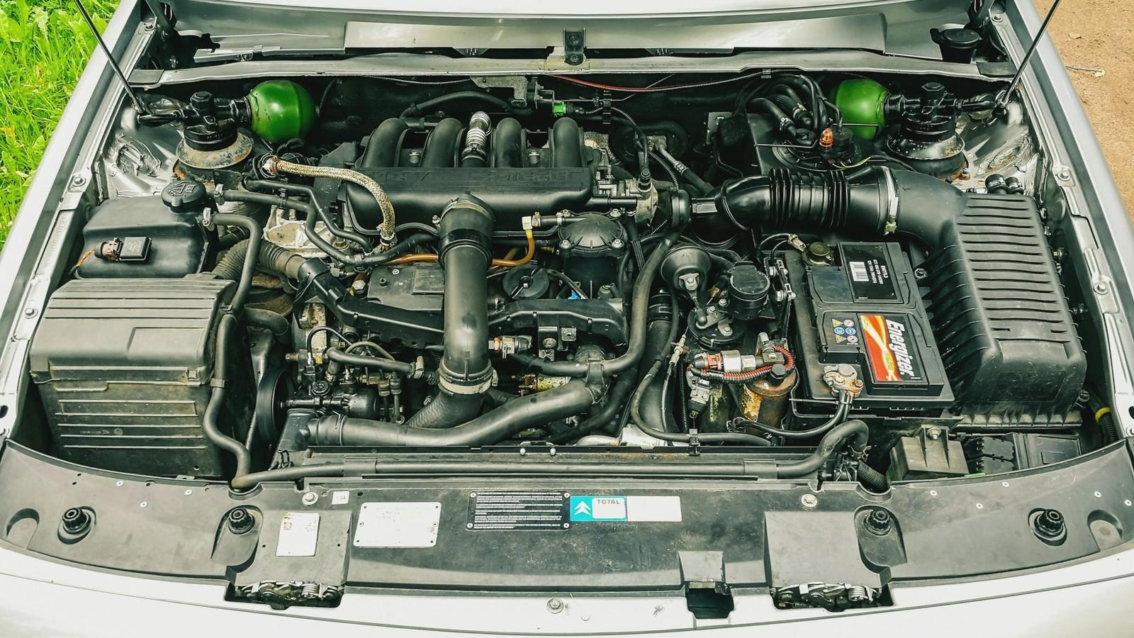 Citroen XM двигатель