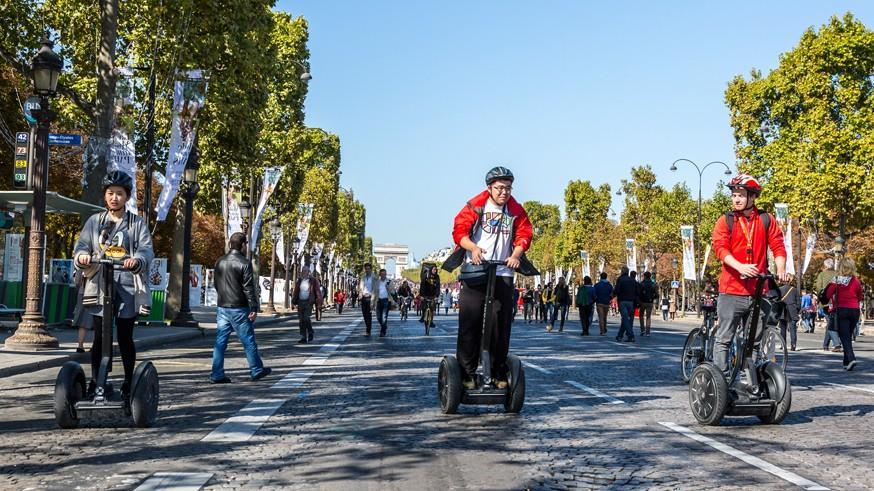 Segways — Journee Sans Voiture, Paris 2015