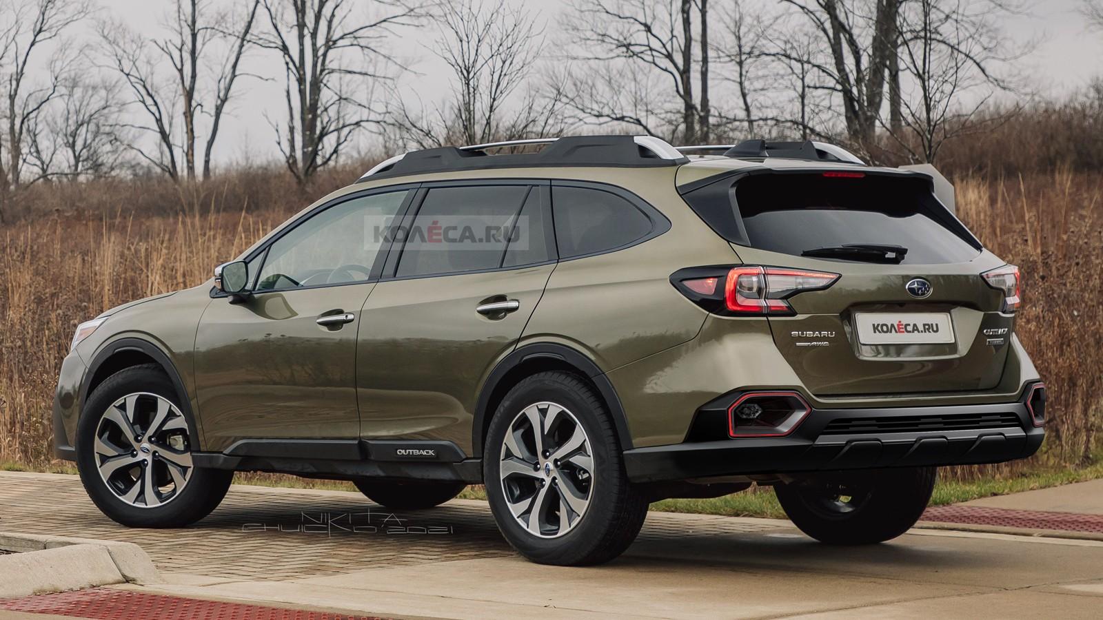 Обновлённый Subaru Outback: первые изображения