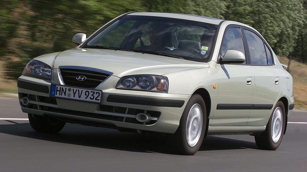 Hyundai Elantra Hatchback Worldwide (XD) '2003–06ч