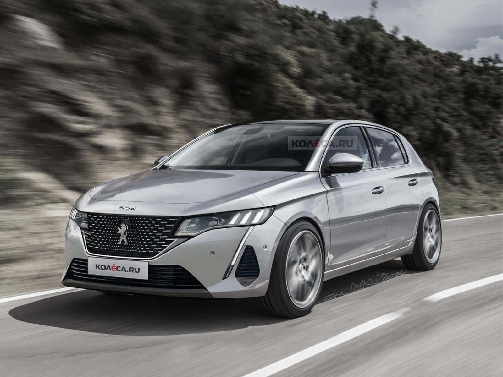 Peugeot 308 следующего поколения: новые изображения