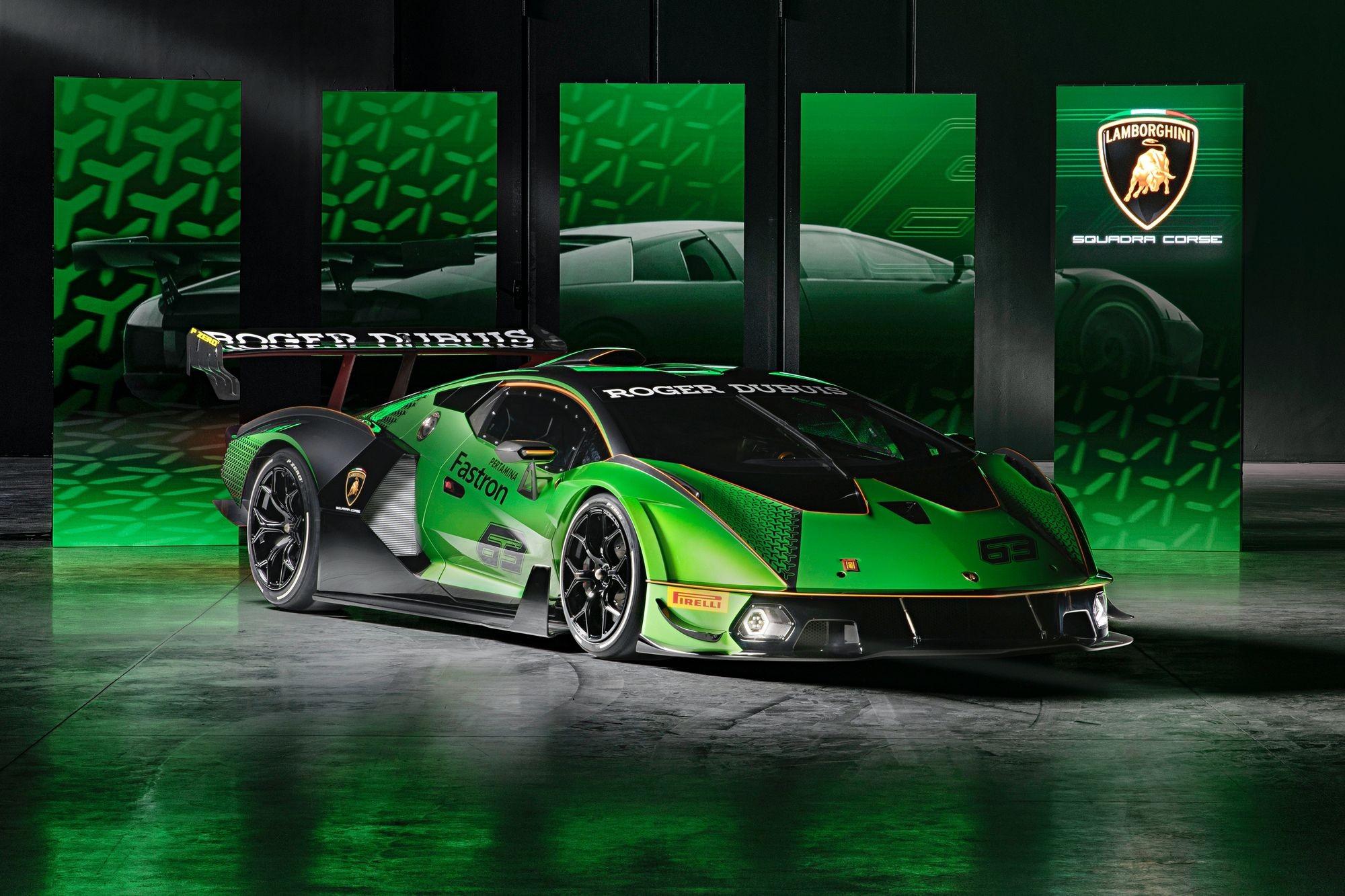Lamborghini Essenza SCV12: атмосферный трековый монстр оказался мощнее гибрида Sian