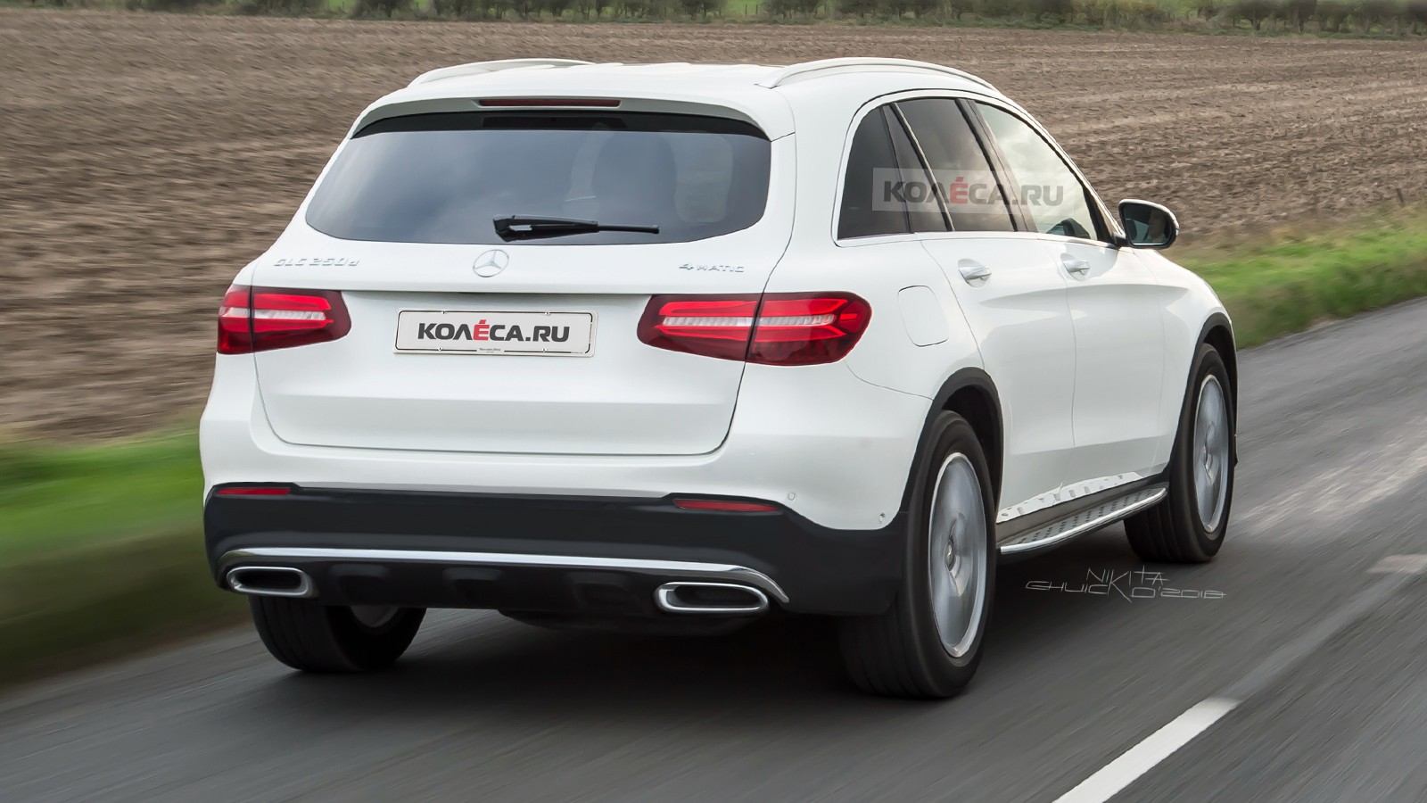 Mercedes-Benz GLC rear1