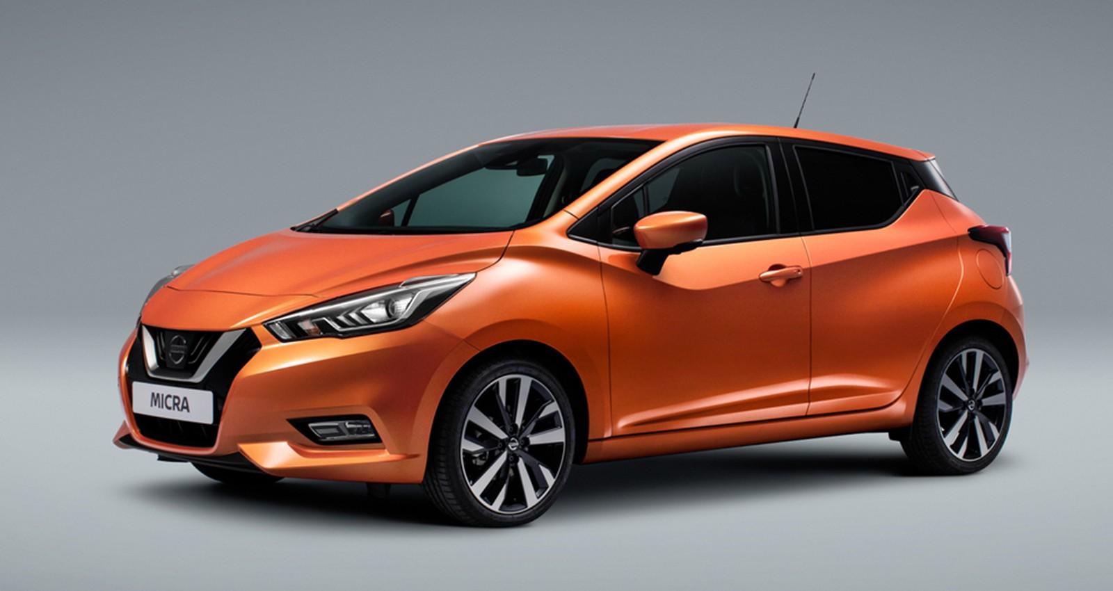 На фото: новый Nissan Micra