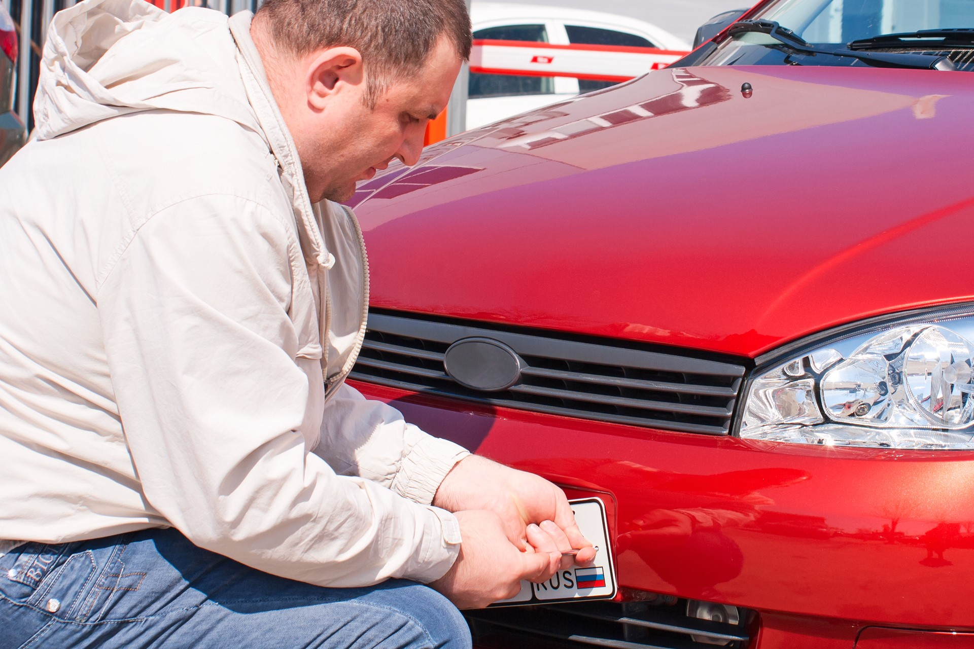 продажа незарегистрированного автомобиля