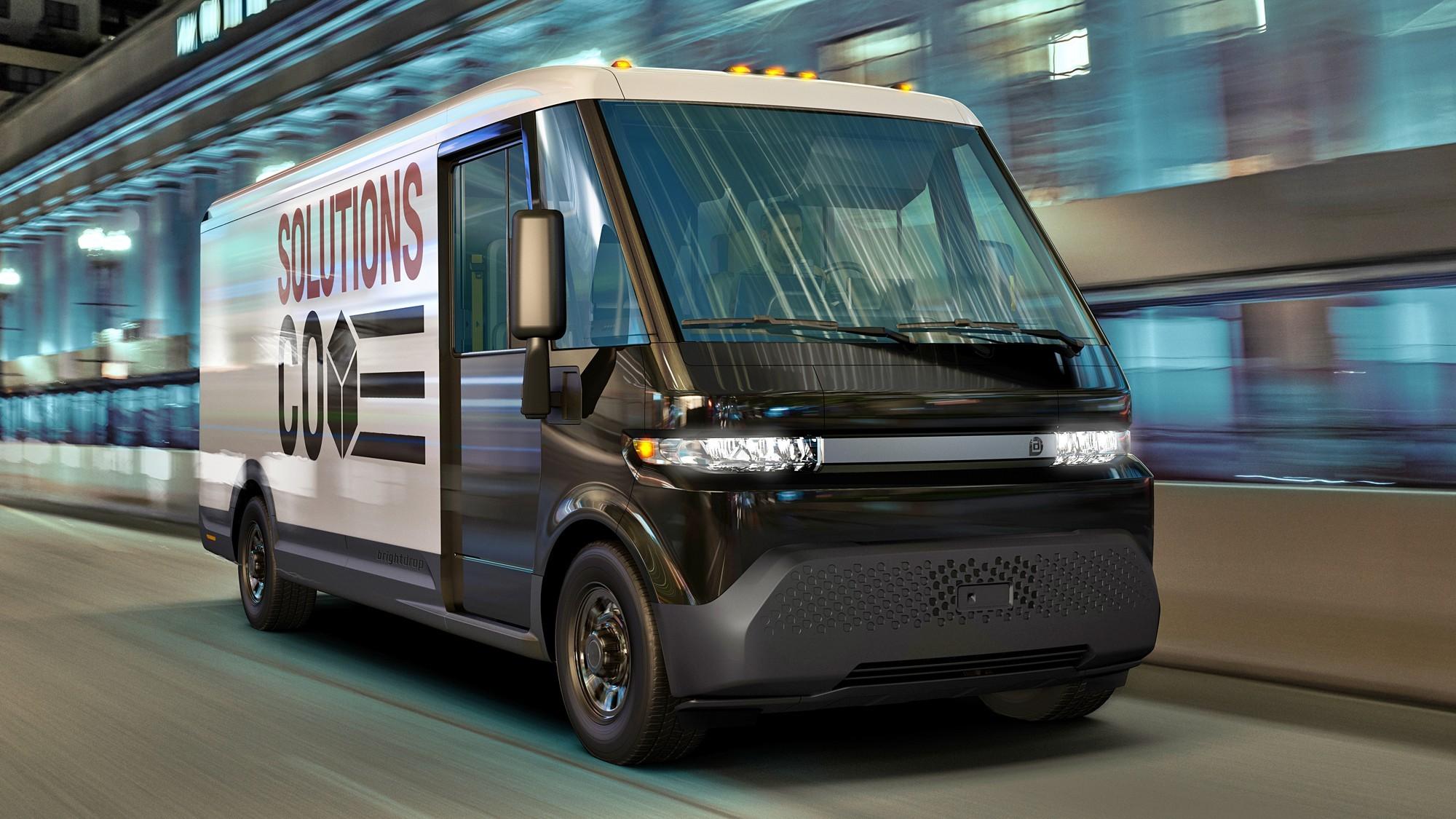 GM запустила коммерческий бренд BrightDrop и представила под ним фургон EV600