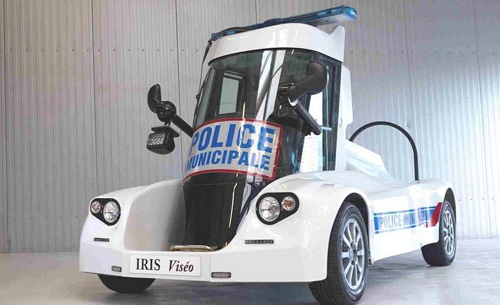 IRIS Viseo полицейская