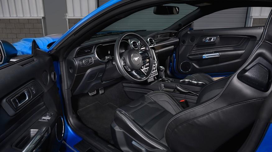Ford Mustang Mach 1: 480-сильный V8 и решётка радиатора в стиле первого «заряженного» Мустанга