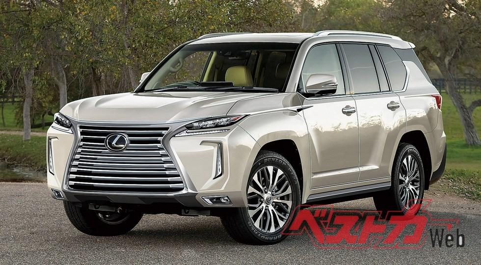 Так может выглядеть новый Lexus LX, по мнению дизайнера японского издания