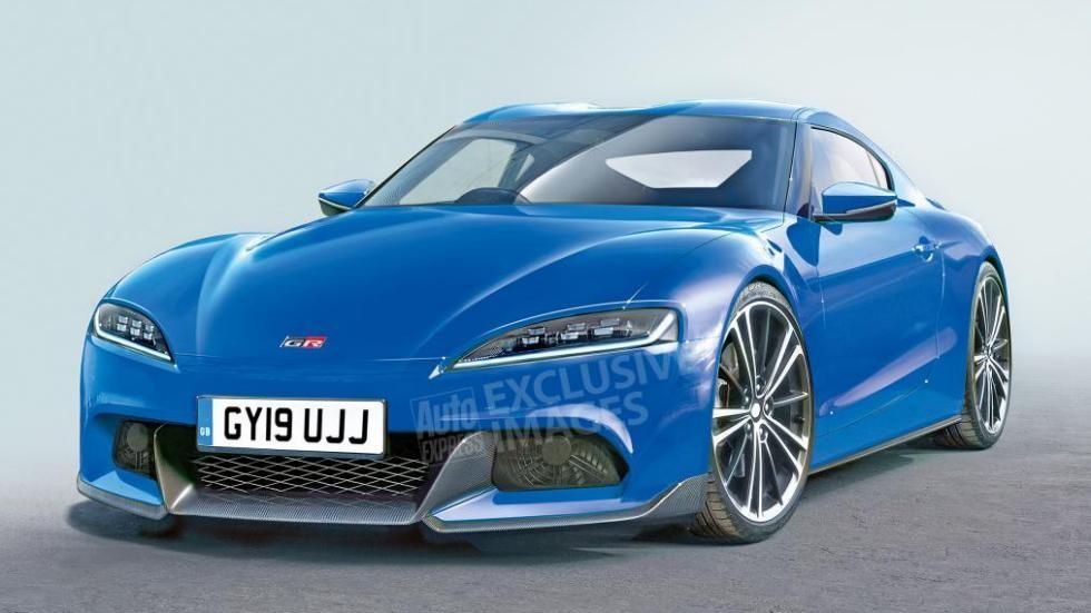 Дизайн новой Toyota Supra по версии AutoExpress