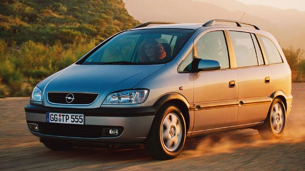 Opel Zafira '1999–2003