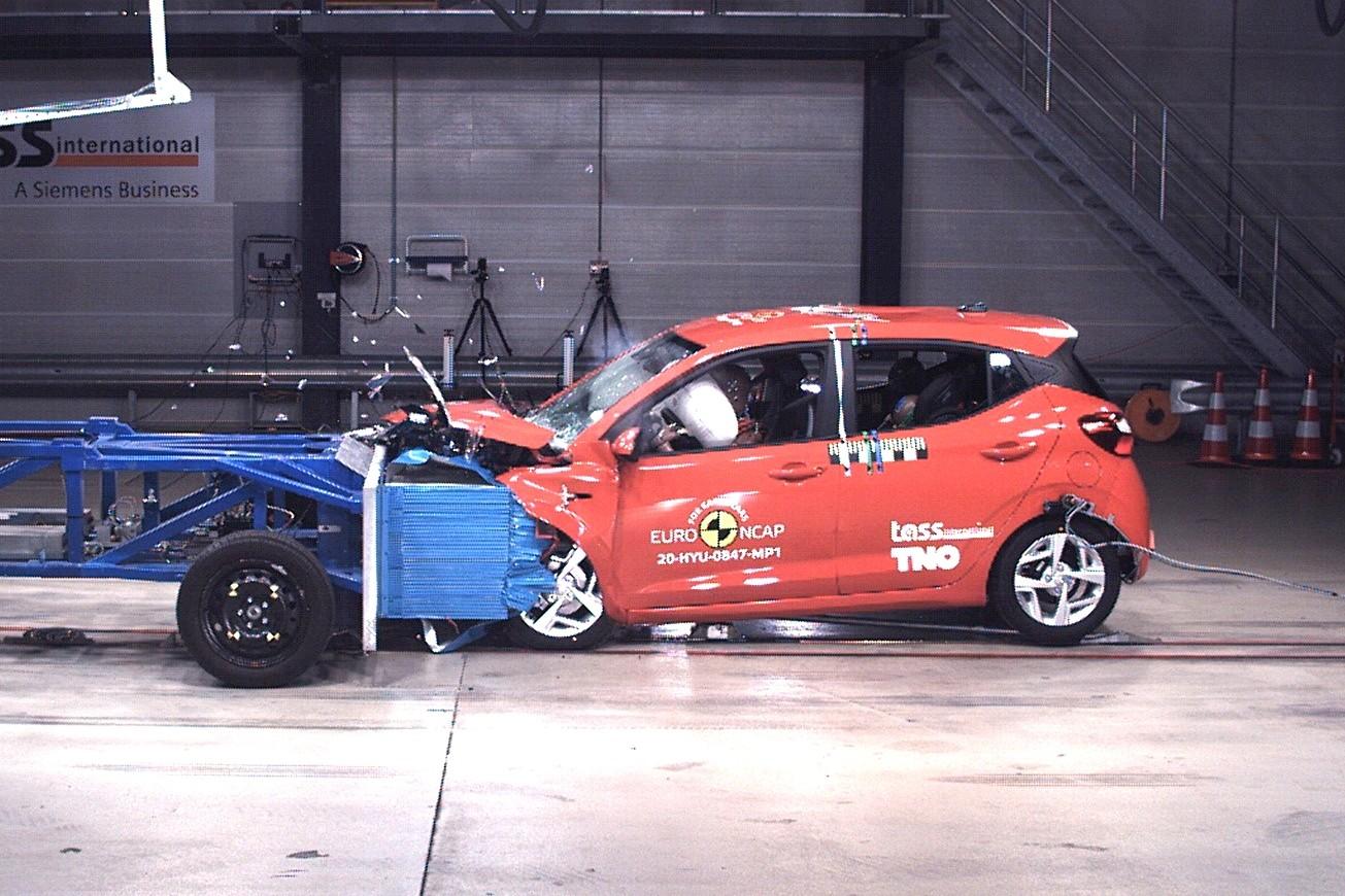 7 моделей на испытаниях Euro NCAP: Honda и Hyundai оказались не готовы к новым краш-тестам