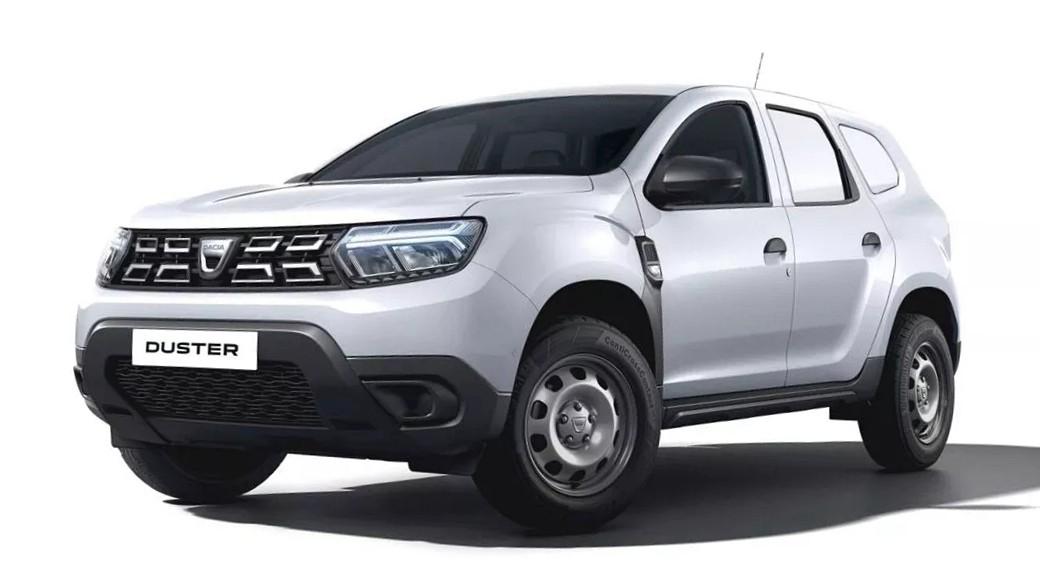 Заводской коммерческий Dacia Duster дебютировал в обновлённом кузове