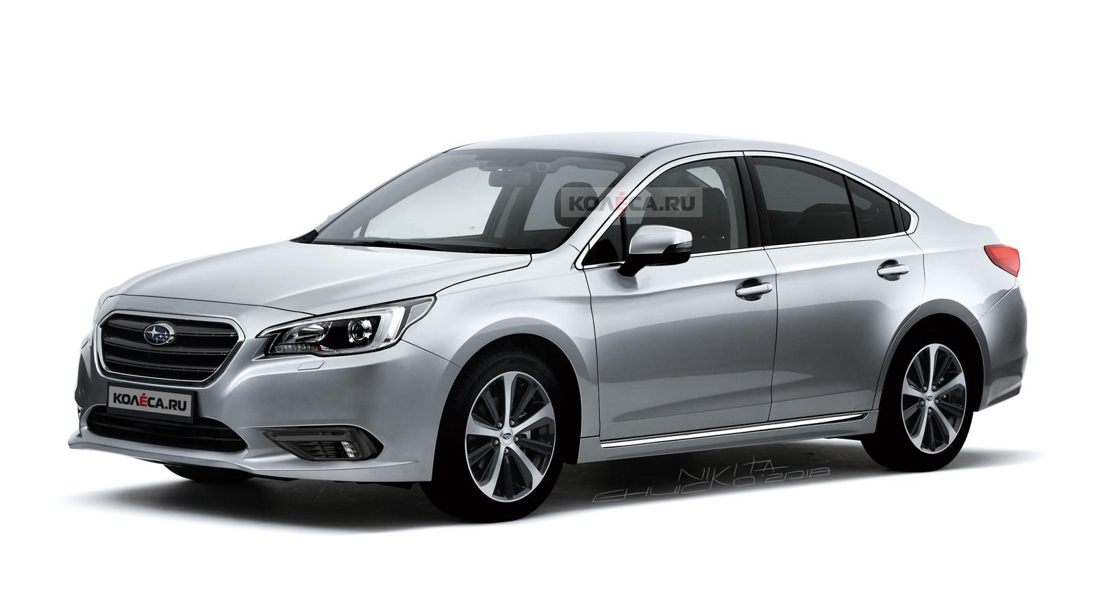 Subaru Legacy front2