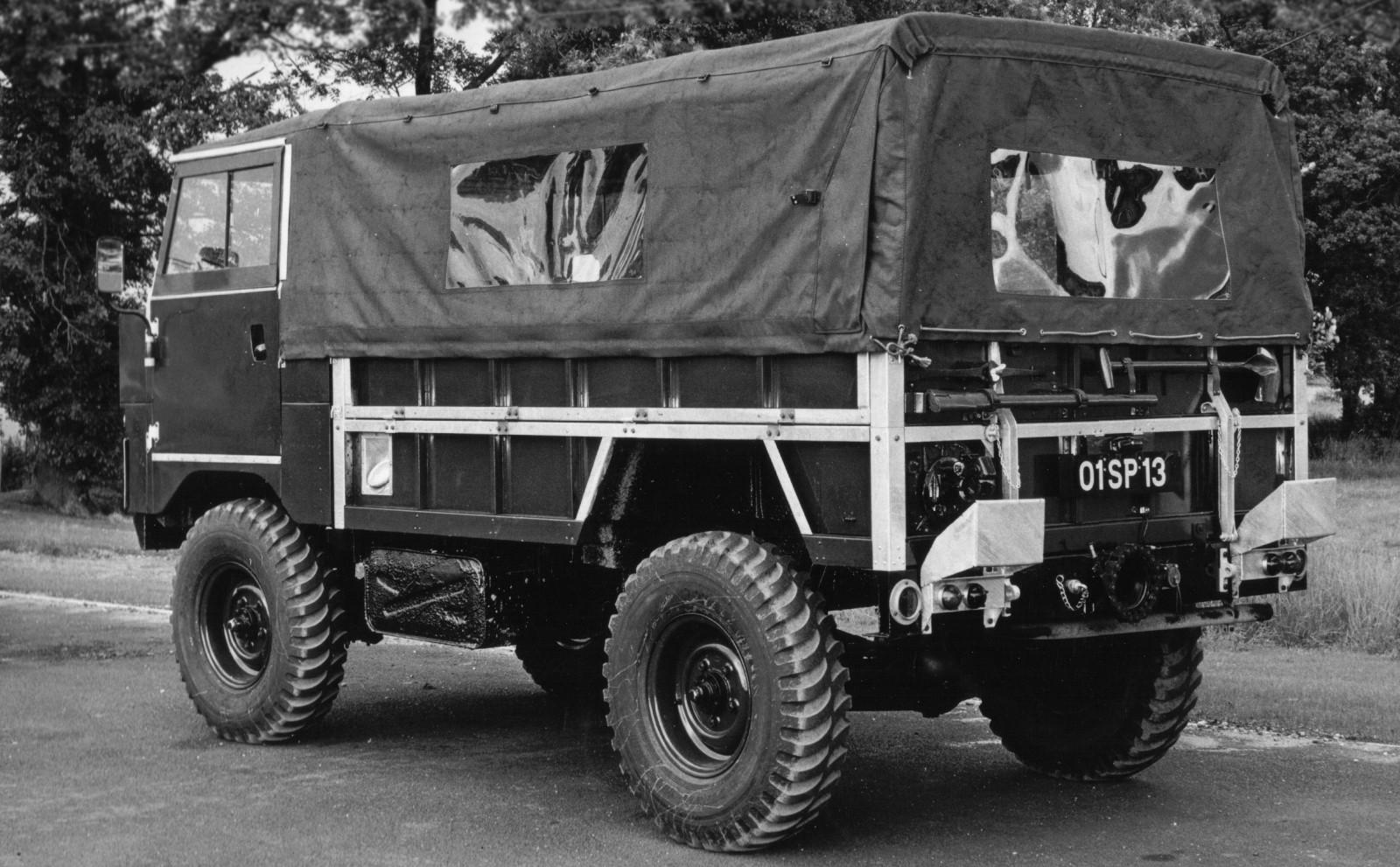 Land Rover 101 Forward Controlэ
