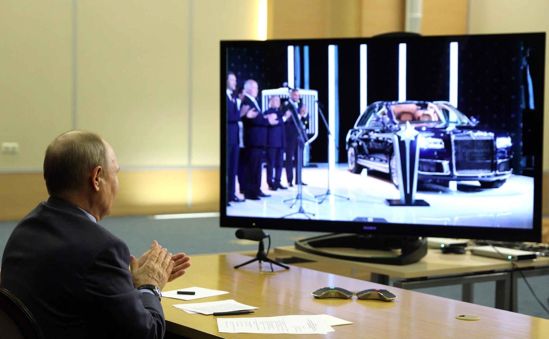 В Елабуге стартовало производство седанов Aurus Senat. SUV Komendant запустят в 2022 году