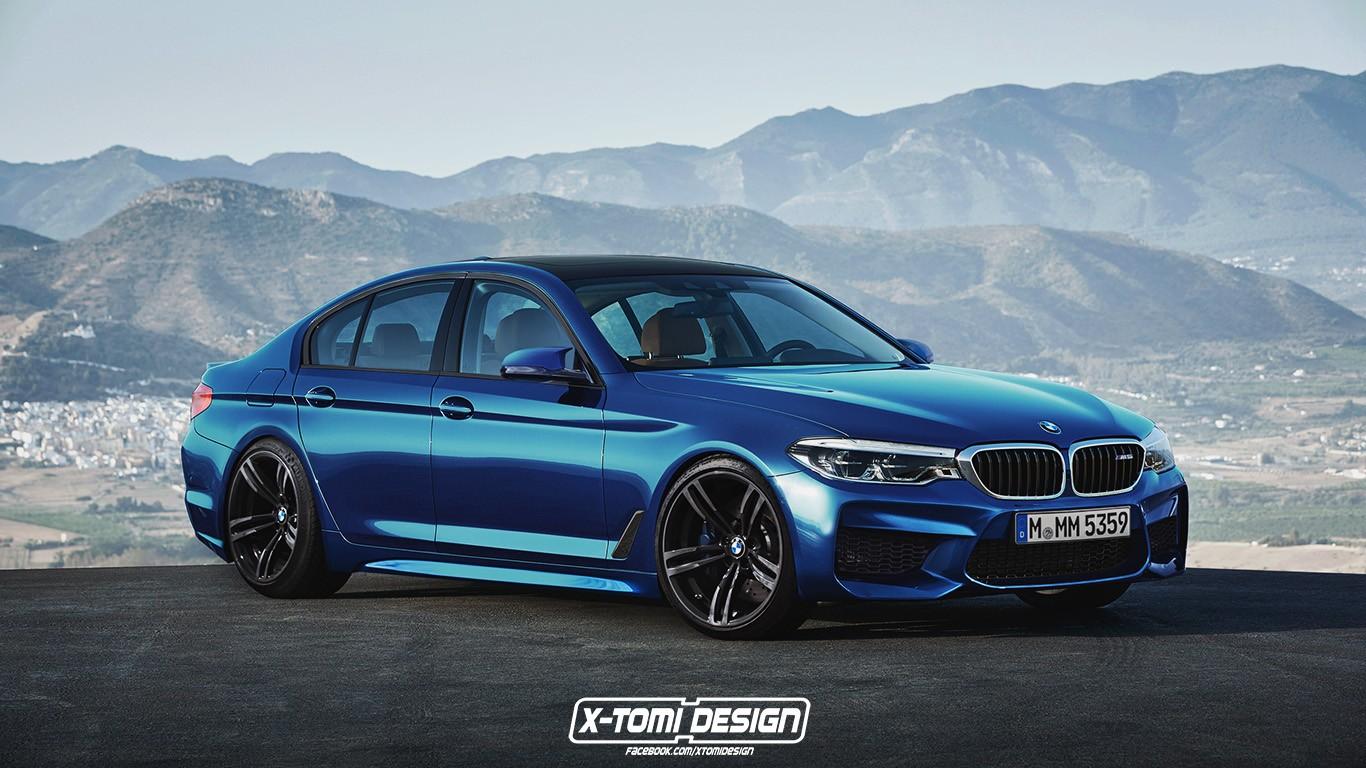 BMW M5 F90 (неофициальный рендер)