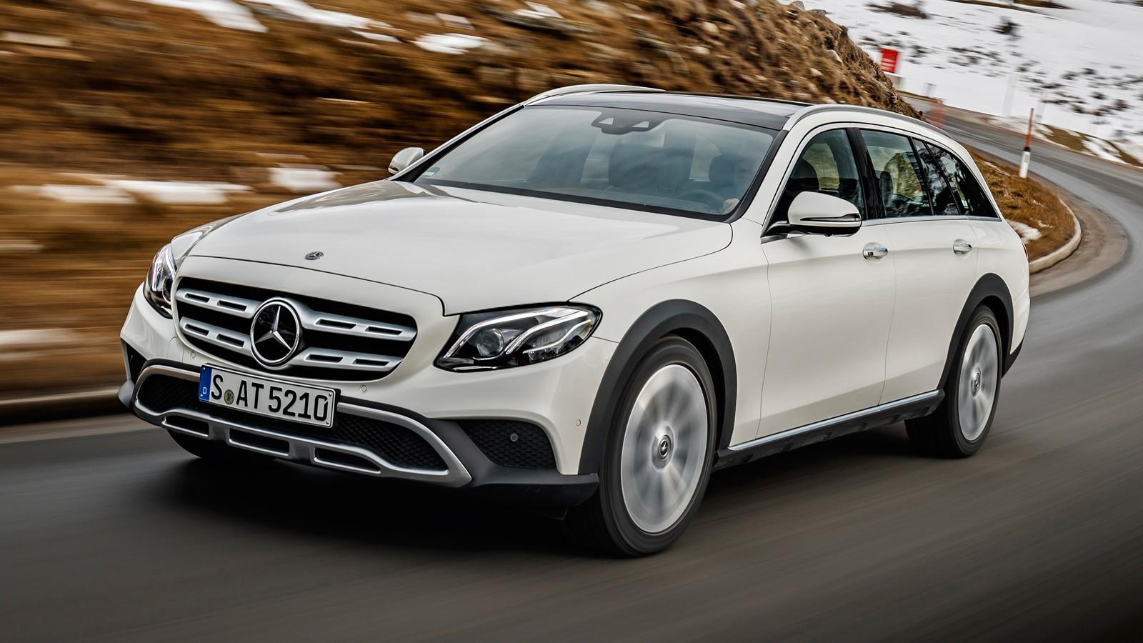 На фото: Mercedes-Benz E-Class All-Terrain