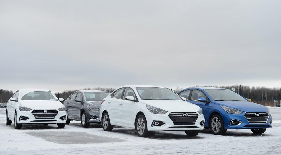 На фото: Hyundai Solaris нового поколения