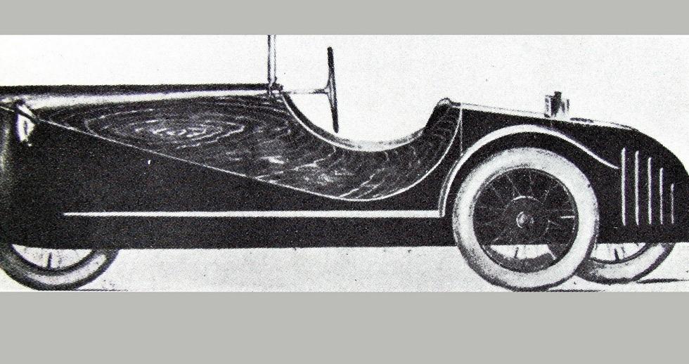 Morgan Auto AG. 1924 год