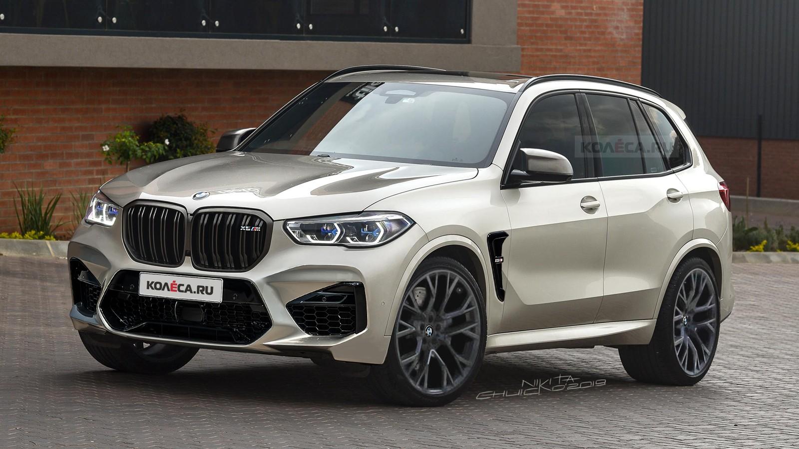 BMW X5M front2