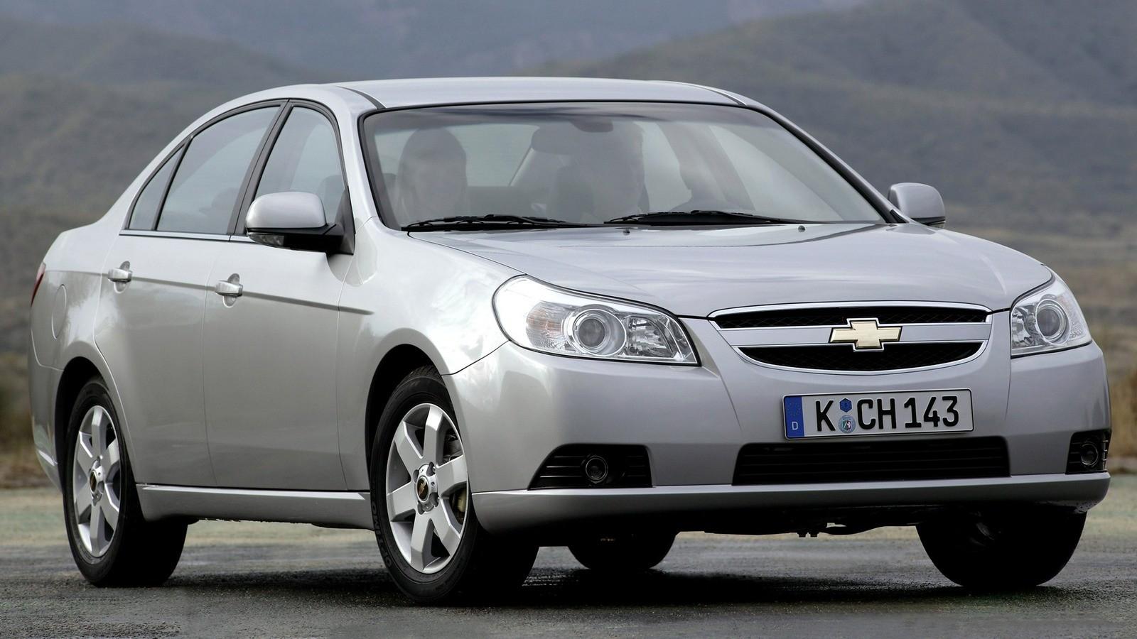 Chevrolet Epica (V250) '2006–08 три четверти
