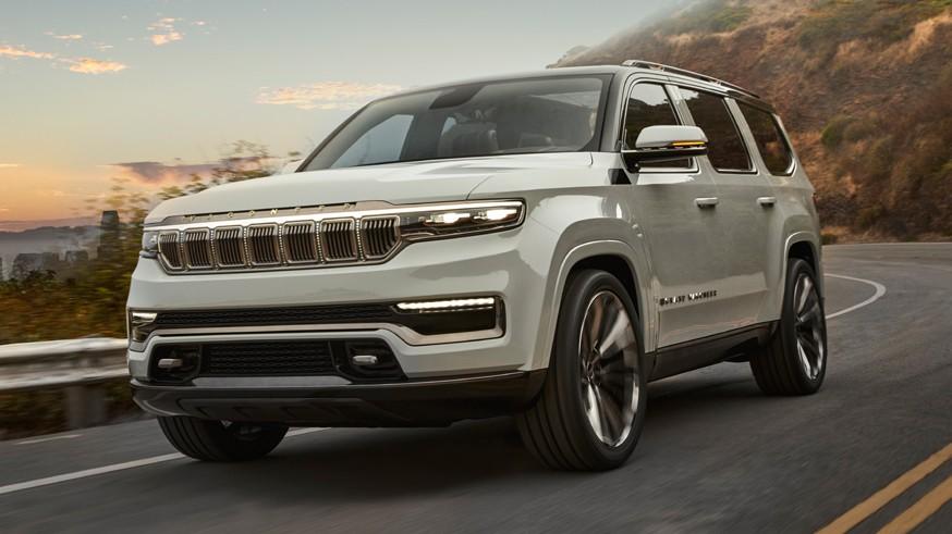 Jeep показал внедорожник Grand Wagoneer, который породнится с пикапом Ram 1500